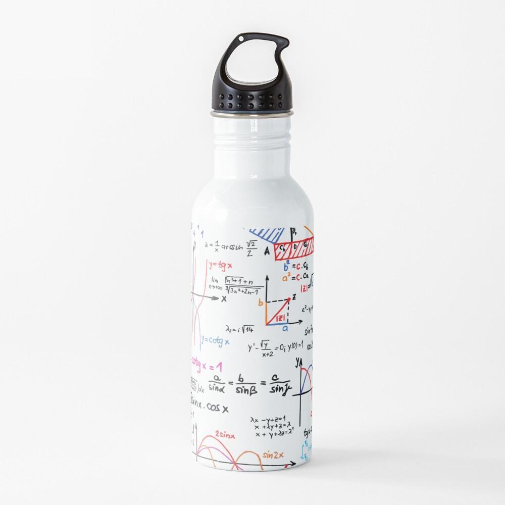 Mathematics Formulas Numbers  Water Bottle