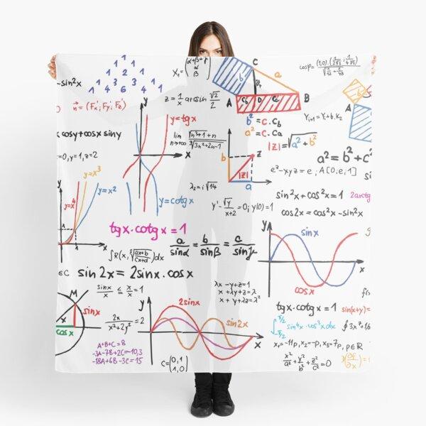 Mathematics Formulas Numbers  Scarf