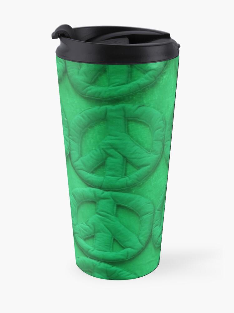 Alternate view of Green peace Travel Mug