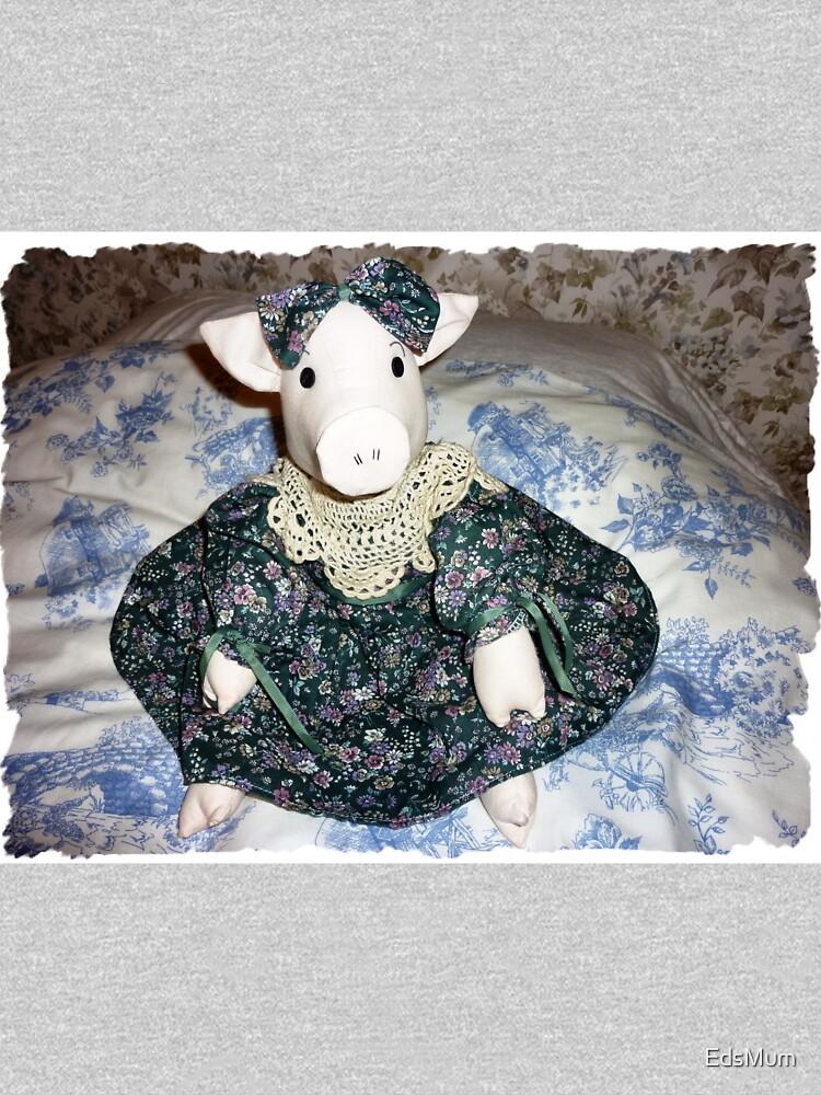 Miss Piggy - sitzt auf meinem Bett von EdsMum