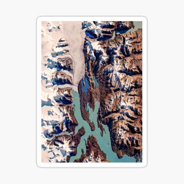 Upsala Glacier Patagonia Sticker