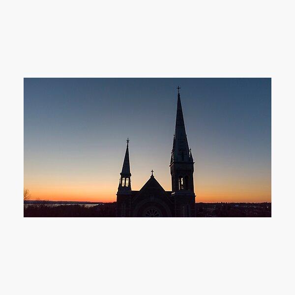 St. John Chrysostom at Sunrise Photographic Print