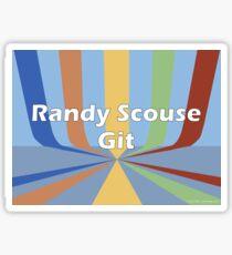 Randy Scouse Git Sticker