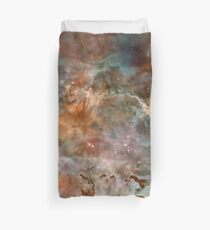 Dark Clouds of the Carina Nebula Duvet Cover
