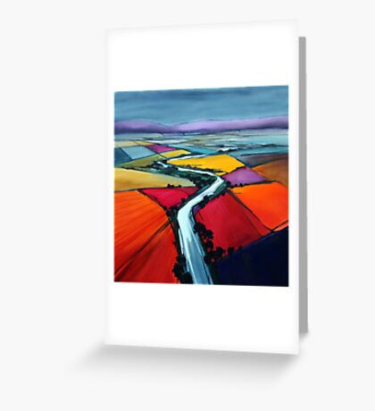 Upstream Greeting Card