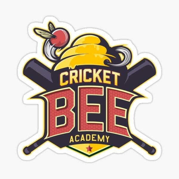 Cricket Bee Academy Sticker