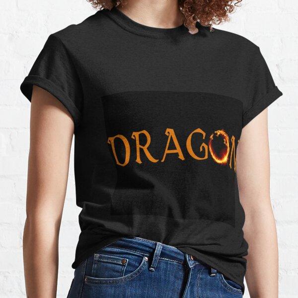 Dragon - Zmey Fire  Classic T-Shirt