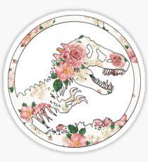 Jurassic Floral Sticker
