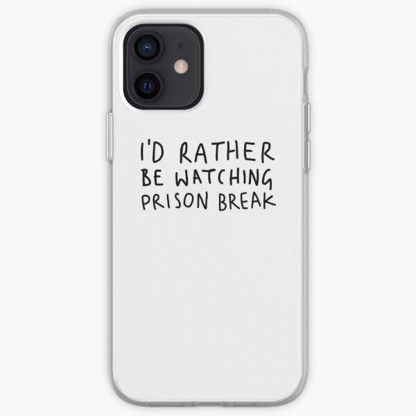 Je préfère regarder Prison Break Coque souple iPhone