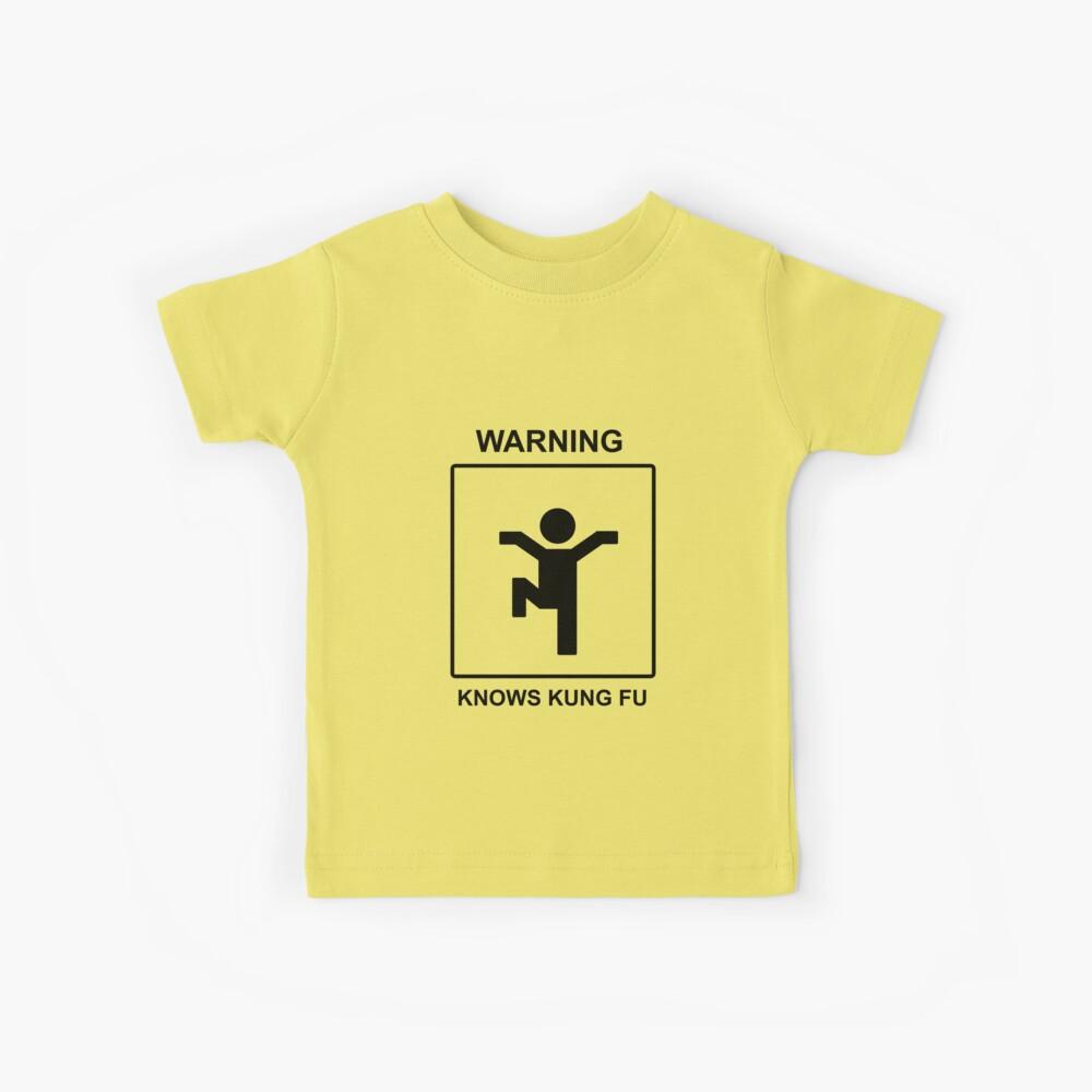 Kung Fu Kinder T-Shirt