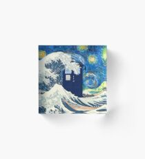 starry night Acrylic Block