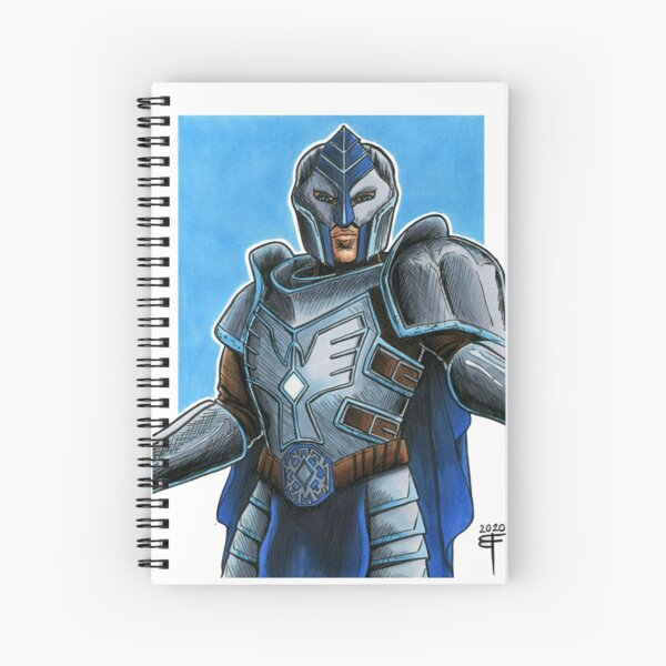 Armour Design by Brent Florica Spiral Notebook