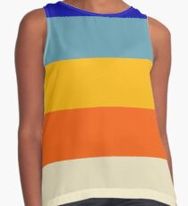 Stripes Graphic Two Contrast Tank