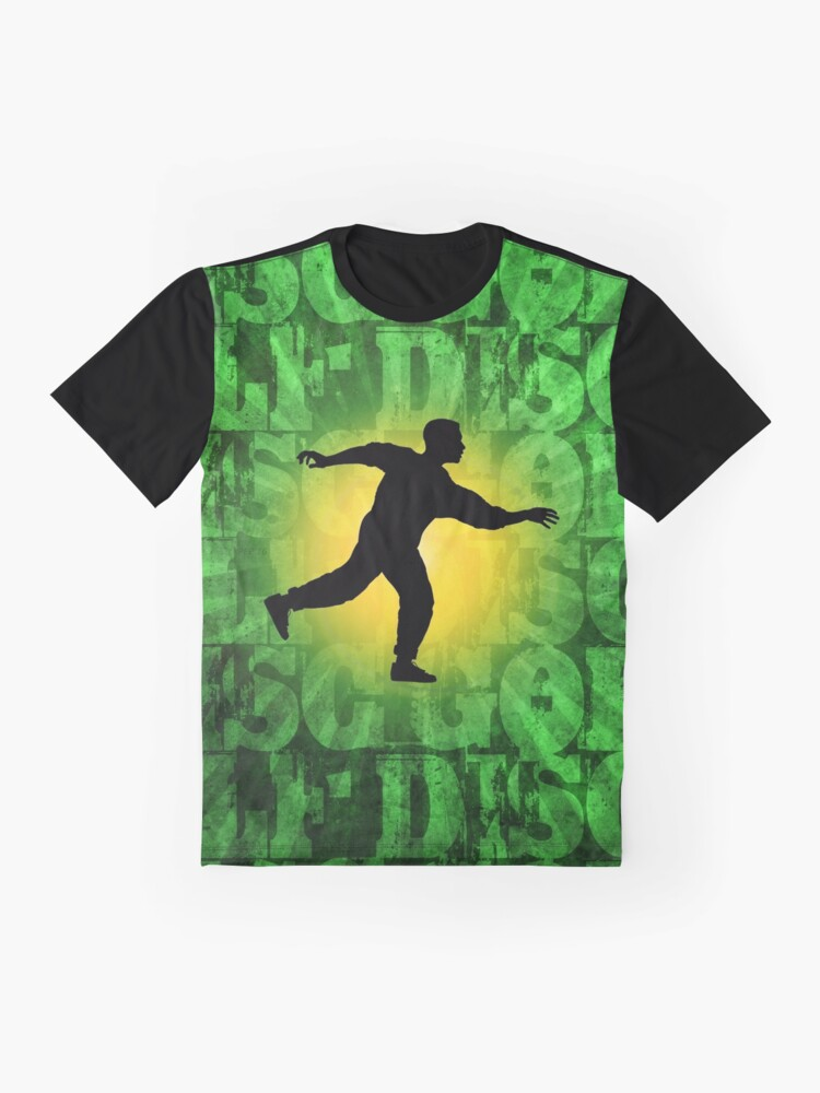 Alternate view of Disc Golfer Graphic T-Shirt