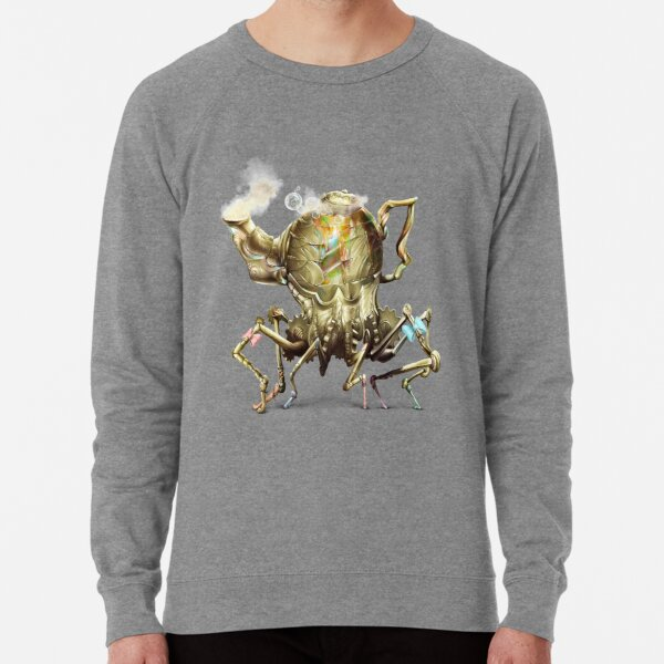 Bubbly Teapot, Wonderland Lightweight Sweatshirt