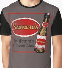 Samcro Beer Coaster Graphic T-Shirt