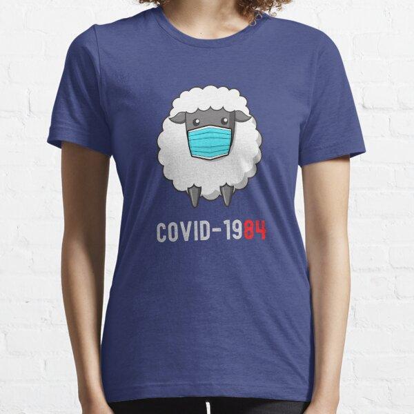 Covid 1984 Masked Sheep Essential T-Shirt