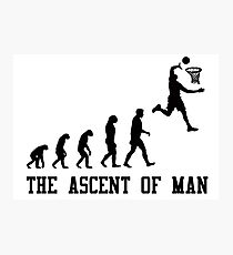 The Ascent of Man Photographic Print