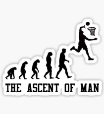 The Ascent of Man Sticker