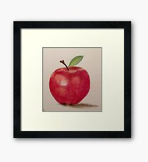 The Apple Framed Print
