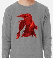 Betta Fisch Leichtes Sweatshirt