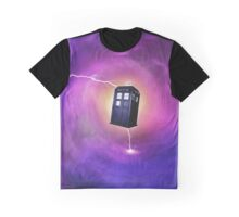 TARDIS IN A BLACK HOLE Graphic T-Shirt