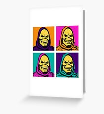 The Skeletor Suite Greeting Card