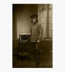 Old War Dog Photographic Print
