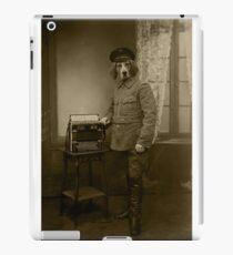 Old War Dog iPad Case/Skin