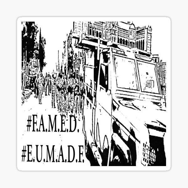FAMED EUMADF Sticker
