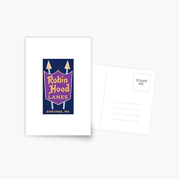 robin hoods lanes edmonds Postcard