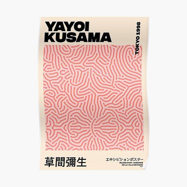 Yayoi Kusama Pink Aesthetic Poster