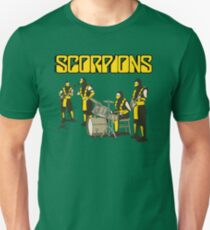 SCORPIONS - MORTAL KOMBAT ROCK BAND T-Shirt