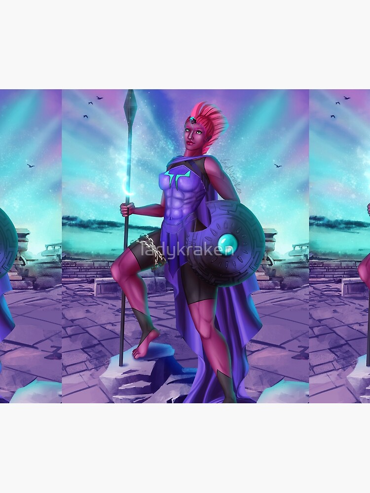 Goddess War by ladykraken