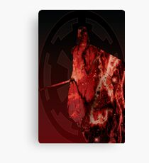 Darth Vader Space Design Canvas Print