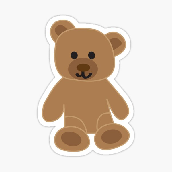 Teddy Bear  Sticker