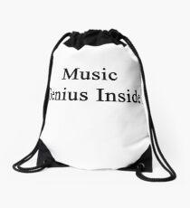 Music Genius Inside Drawstring Bag