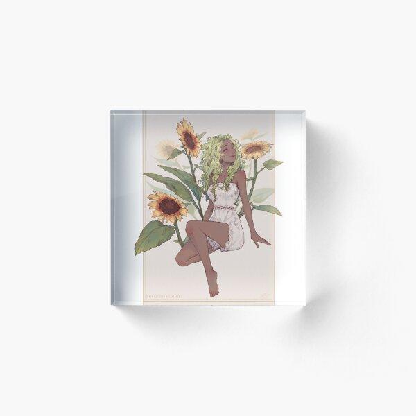 Spring - Joy of Summer Acrylic Block