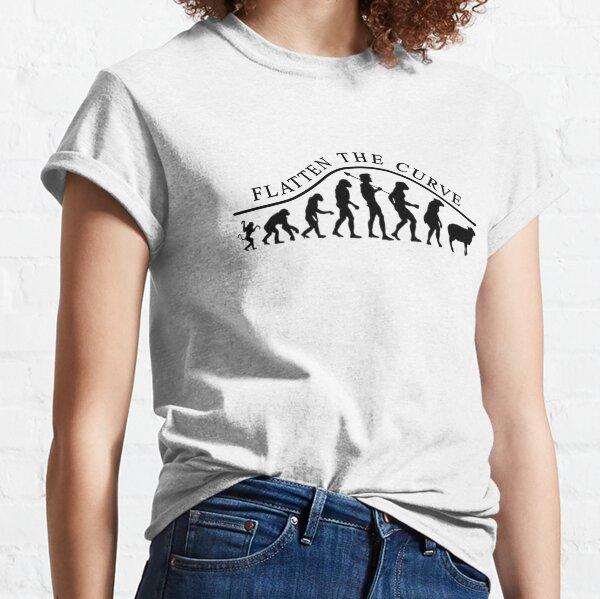 Coronavirus - Glätten Sie die Kurve Classic T-Shirt
