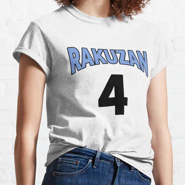 Kuroko No Basket Rakuzan 4 Akashi Jersey Anime Cosplay Japon T-shirt classique