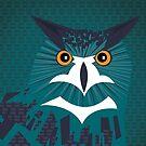Taki the Eurasian Eagle Owl by InRC
