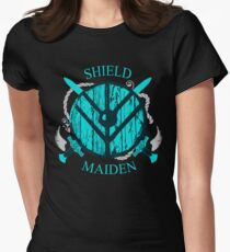 shield maiden - viking warrior - norse Women's Fitted T-Shirt