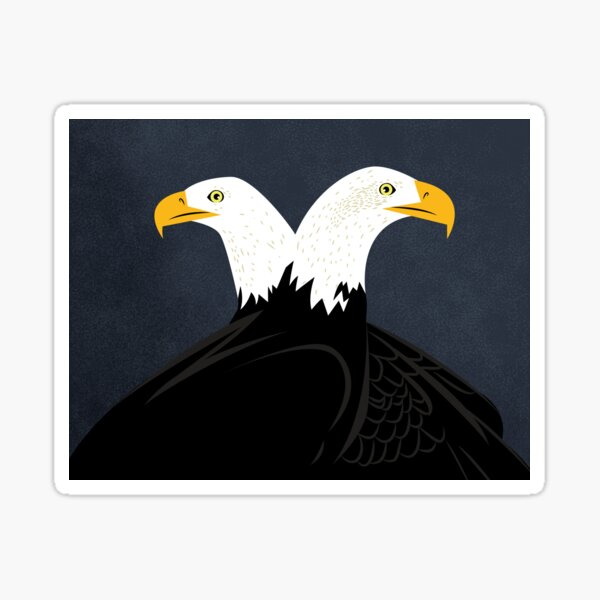 Double Eagles! Sticker