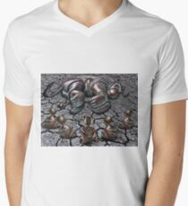 Rut Roh for Lion Men's V-Neck T-Shirt