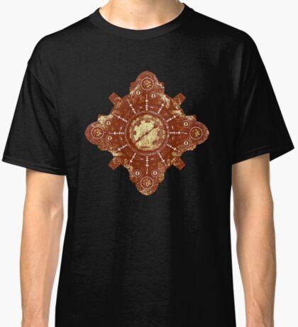 Steampunk Vintage Machine part No.1B Classic T-Shirt