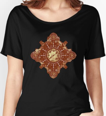 Steampunk Vintage Machine part No.1B Women's Relaxed Fit T-Shirt