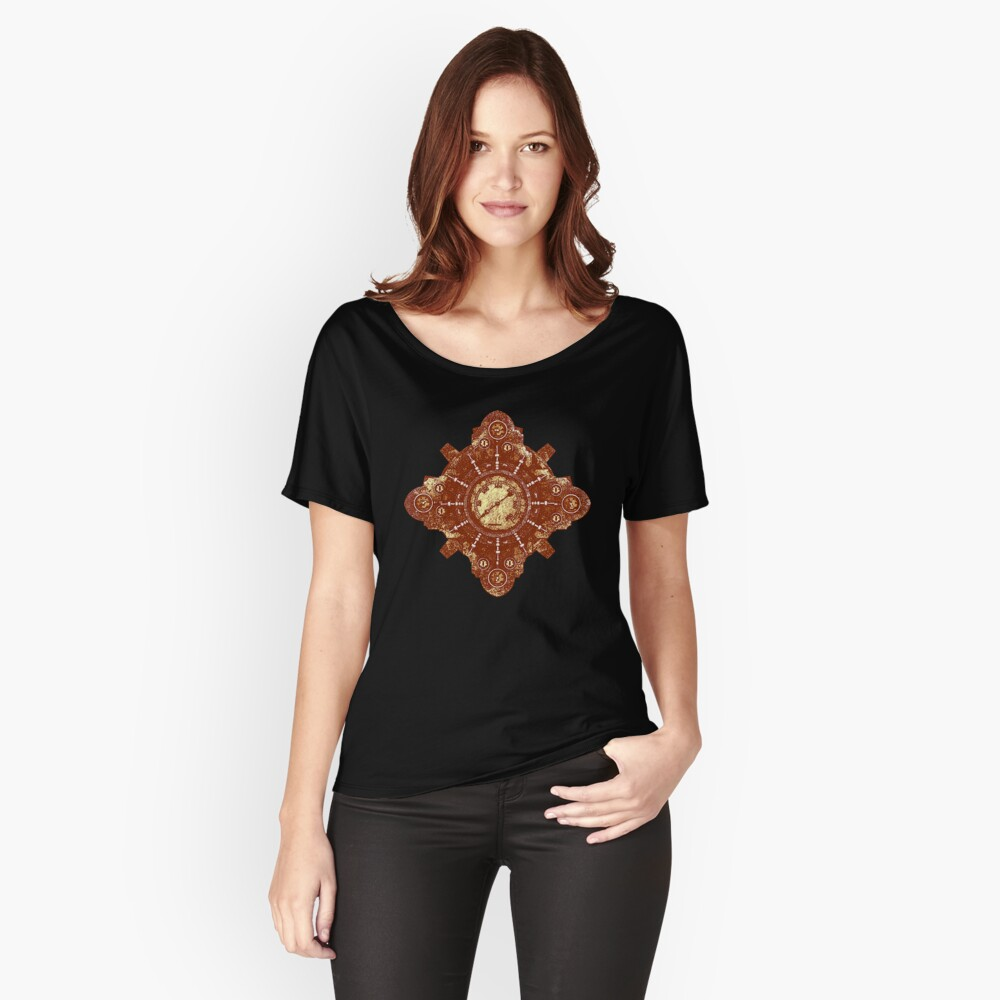 Steampunk Vintage Machine part No.1B Relaxed Fit T-Shirt