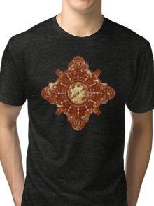 Steampunk Vintage Machine part No.1B Tri-blend T-Shirt