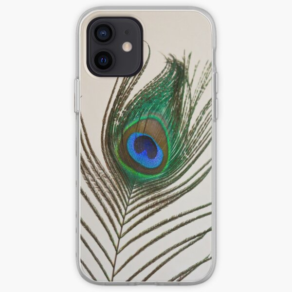 Peacock Feather iPhone Soft Case