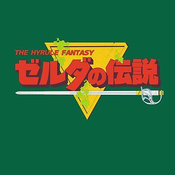 Original Legend - Japanese (Red) by cronotriggr